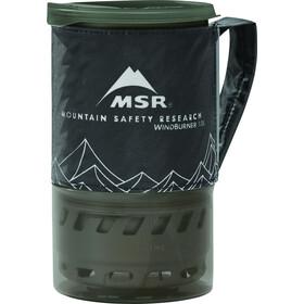 MSR WindBurner 1.0L Personal Stove System black